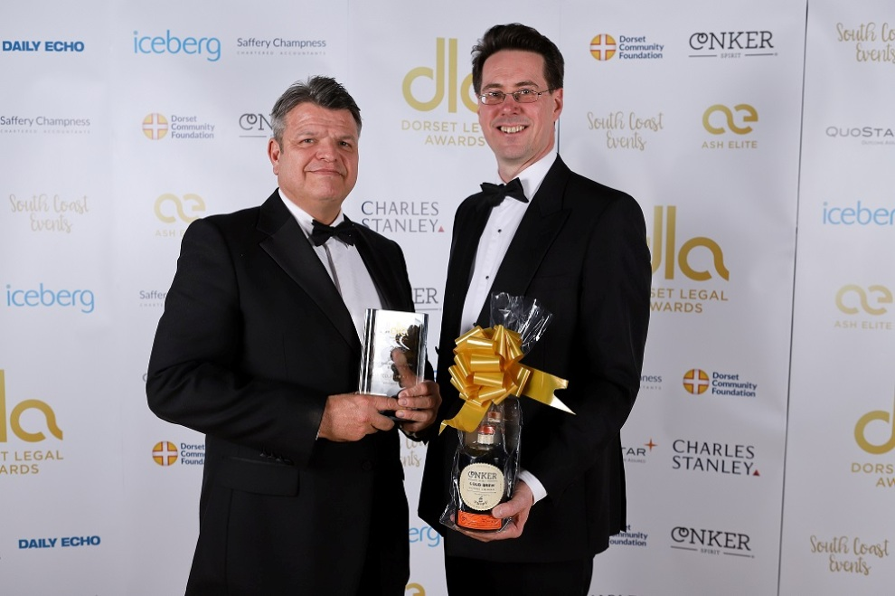 Dorset Legal Awards 2018 Win - large